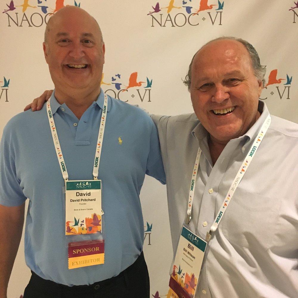 David Pritchard &Bill Wilson, Founders