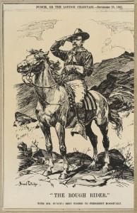 'The Rough Rider' Bernard Partridge, Punch, September 25, 1901