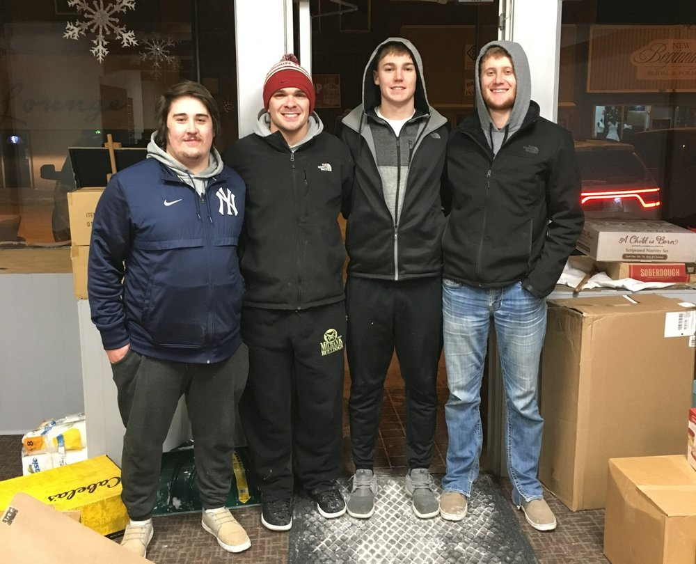 Our moving crew was awesome. Thanks Boys!