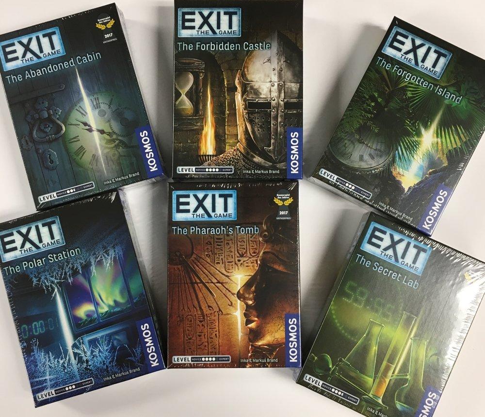 Evening Entertainment:Exit Games ($14.99)