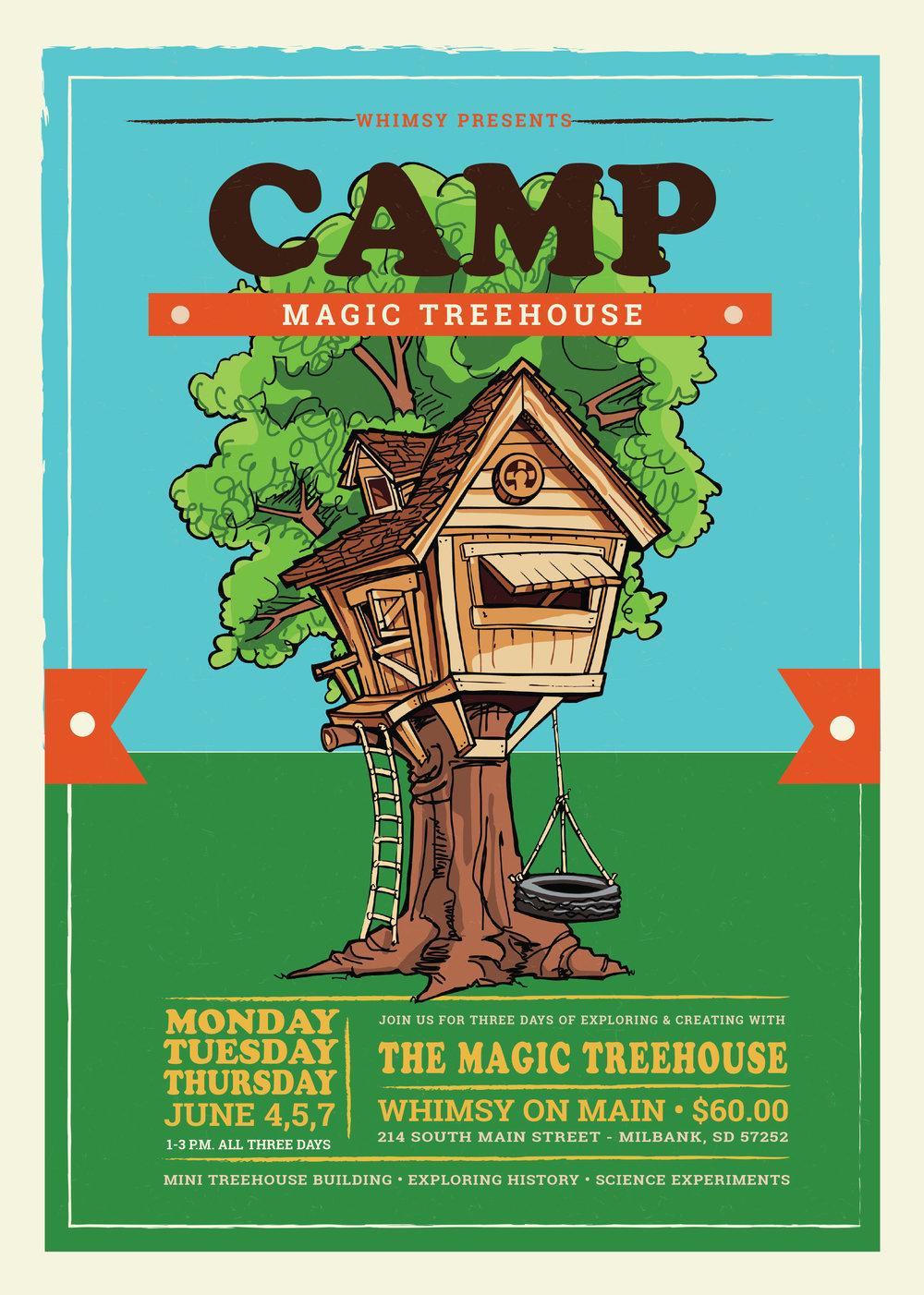 MAGIC TREEHOUSE CAMP