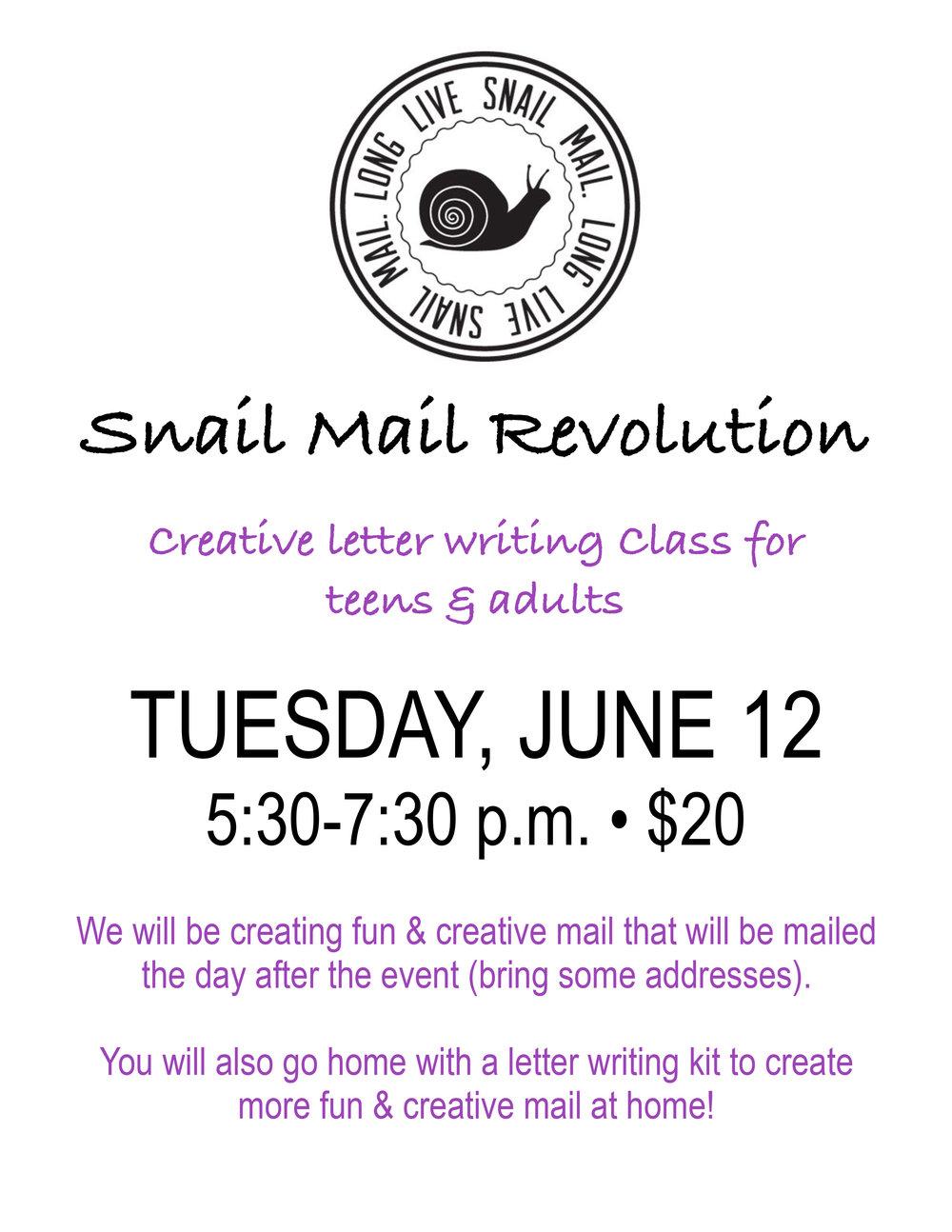 Snail Mail June 12