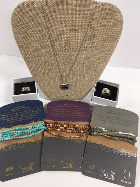 Mama Bear Necklace, Spinner Rings and Scout Necklace/Bracelets