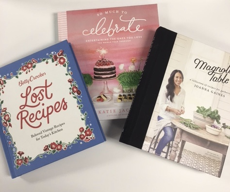 Just a few of our newest cookbooks for every occasion.