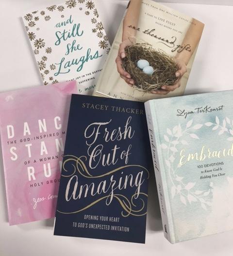 Inspirational books for mom.