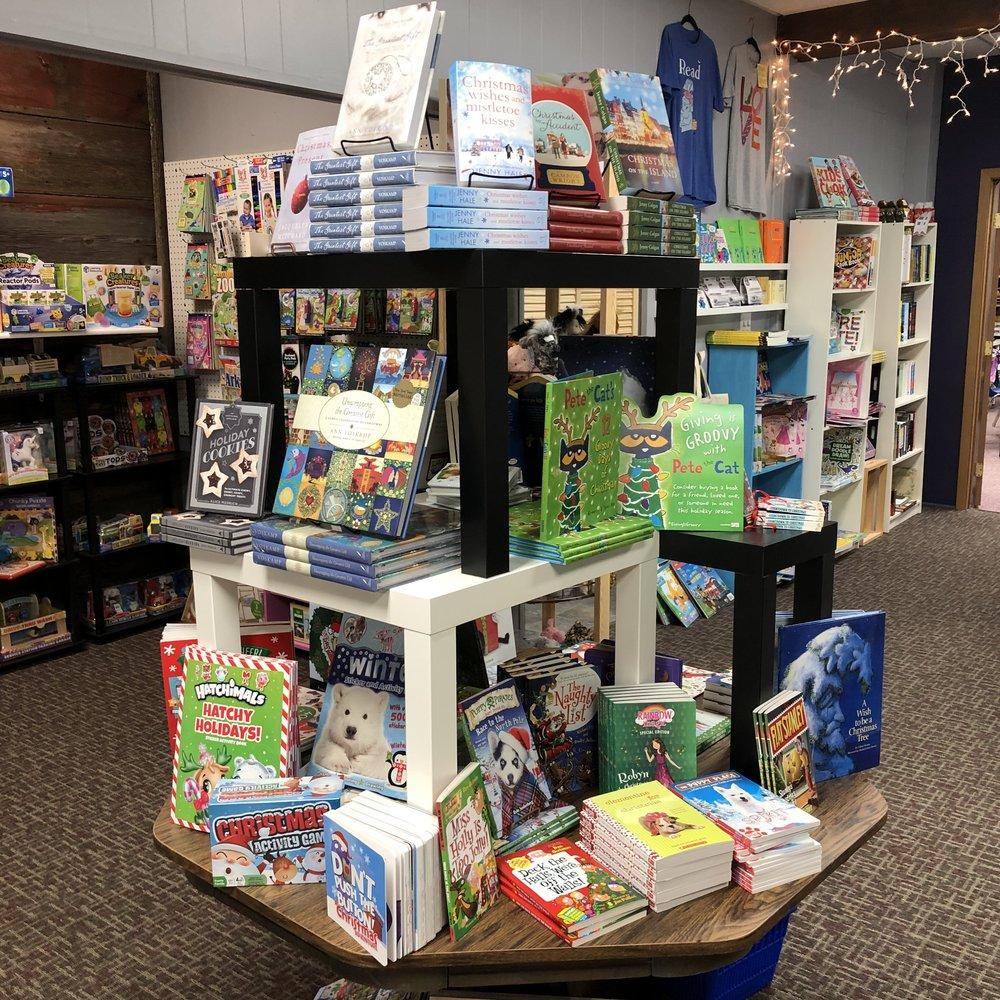 Christmas Book Table
