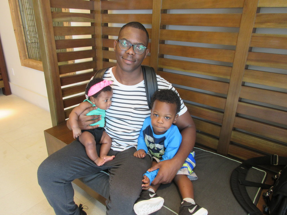 Hubby and our babies :)