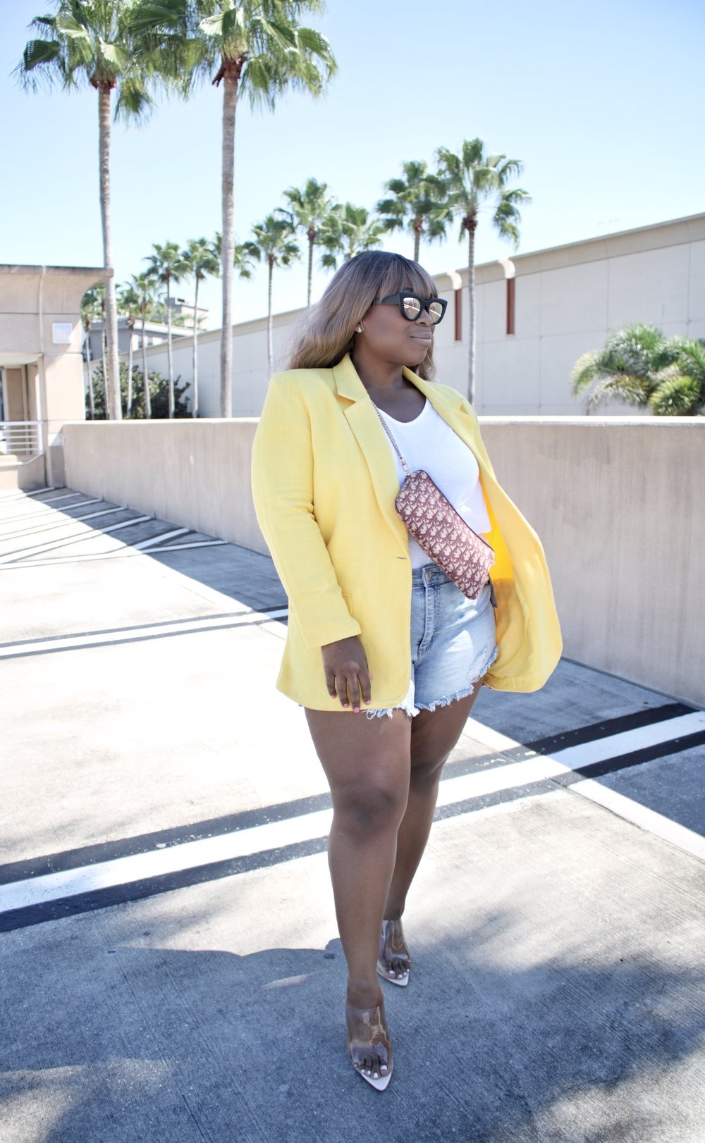 BLAZER (SIMILAR):    JEAN SHORTS (SIMILAR)   HERE IS THE 'BALANCE' I MENTIONED EARLIER…