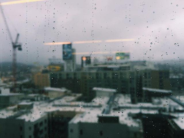 I like you, rain.