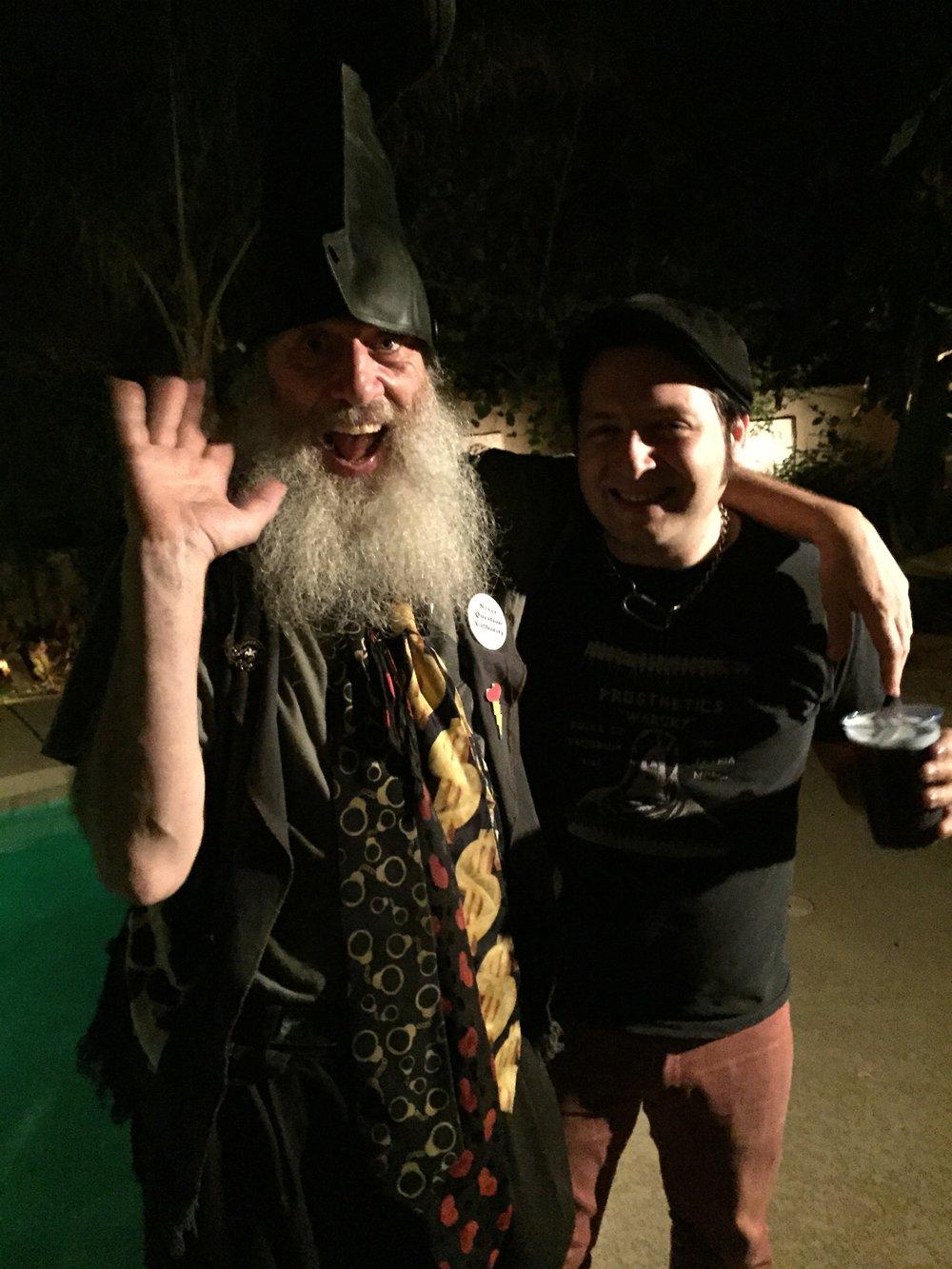 Vermin Supreme & Monty O'Blivion