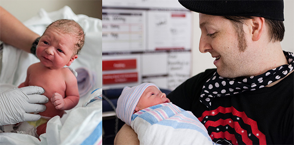 Our friend & photographer, Stephen Mimiaga, was there to capture these first moments.