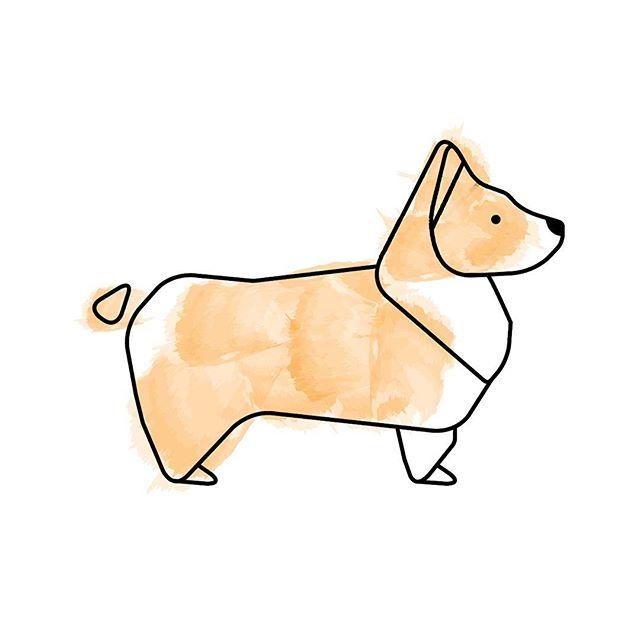 #corgi #corgisofinstagram #illustration #corgicommunity #corgilove #corgination  #art #instadaily #dog #dogsofinstagram 🤤🐶