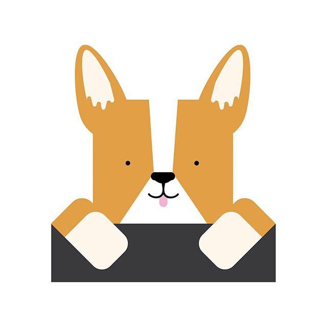 #corgi #corgisofinstagram #illustration #corgicommunity #corgilove #corgination  #art #instadaily #dog #dogsofinstagram 🐶