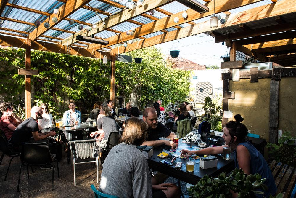 Beer Garden/Dinning Room -