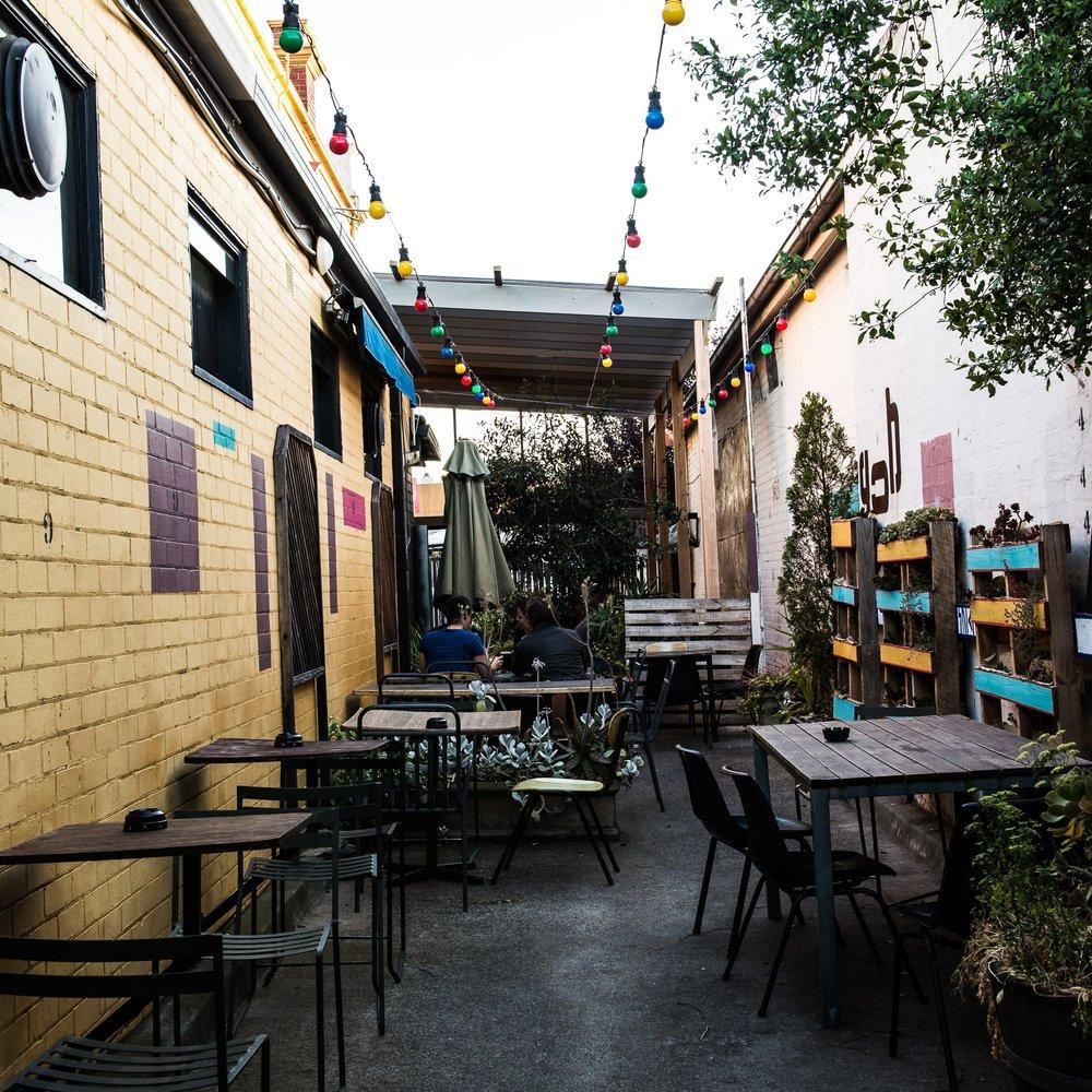 Side Beer Garden -
