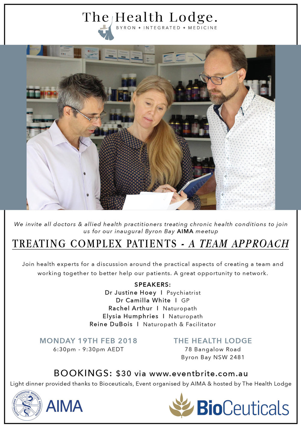 February 2018 - Treating Complex Patients: A Team Approach