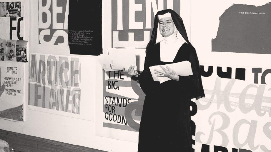 Corita Kent : Typologist, Designer / Nun