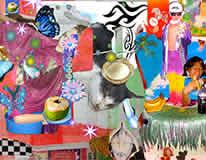 Kinky Tribal Disco Kitsch XXX   MARIA JEONA ZOLETA  Year: 2013 Media: giclee print on paper Edition: 100 Paper Size: 25.5x20.3 cm Print Size: 20.3x27.9 cm signed