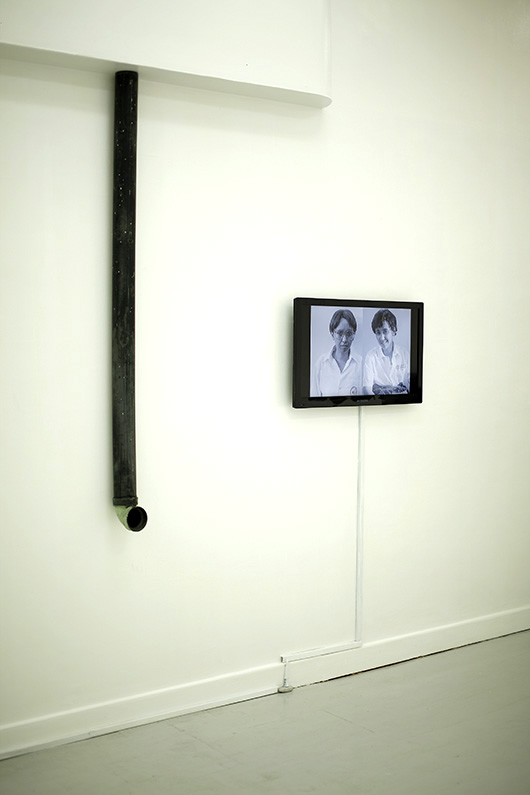 From left to right: BROKE with The Sleepyheads, Pipe, 2013. Lyra Garcellano, Allegory I, 2013.