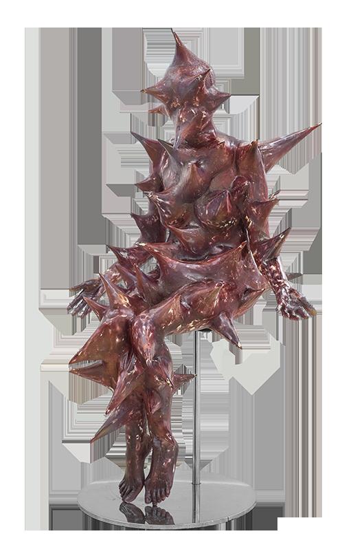 Chrysalis: Mother , 2015 Fiberglass, 142.5x86x80 cm