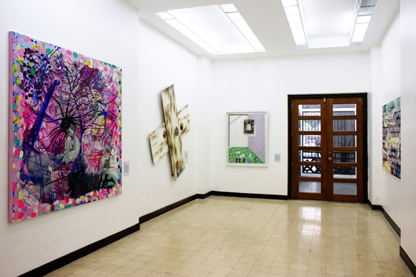 Installation view, artworks by: Jeona Zoleta, Poklong Anading, Catalina Africa and Rinne Abrugena(from left to right)