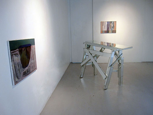Installation view, from left to right, artworks by: Dominic Mangila, Poklong Anading, Dominic Mangila