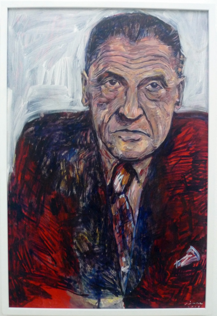 W. SOMERSET MAUGHAM , 2014 Acrylic on canvas 61 x 91.5 cm