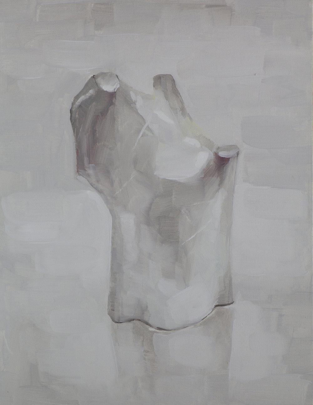 SH1809_Hong Soun_OrdinaryMonument M-1809_oil on canvas_52.5x41cm_2018.JPG