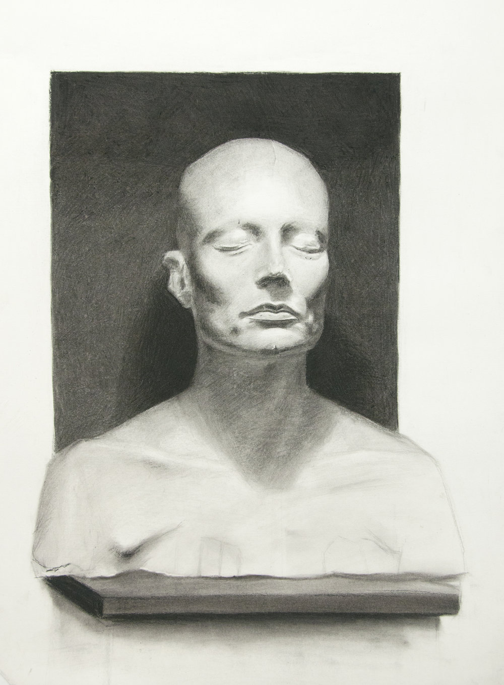 Charles Antolin, cast drawing student.