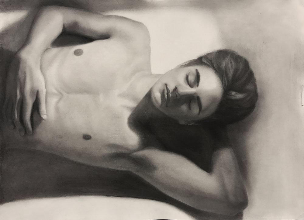 Olga Perleman, Life Drawing 1 student.
