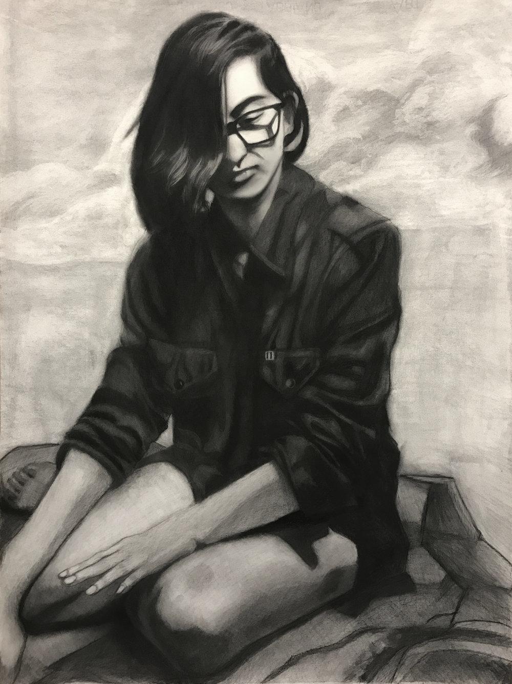 Isa Huatama, Figure Drawing student