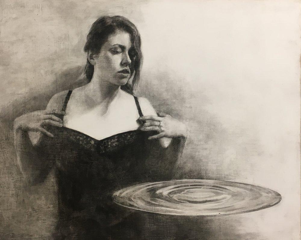 Carlton Pickett, Experimental Drawing student.