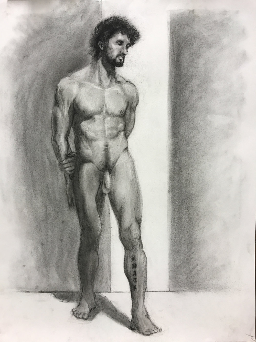 Jamie, Figure Drawing student