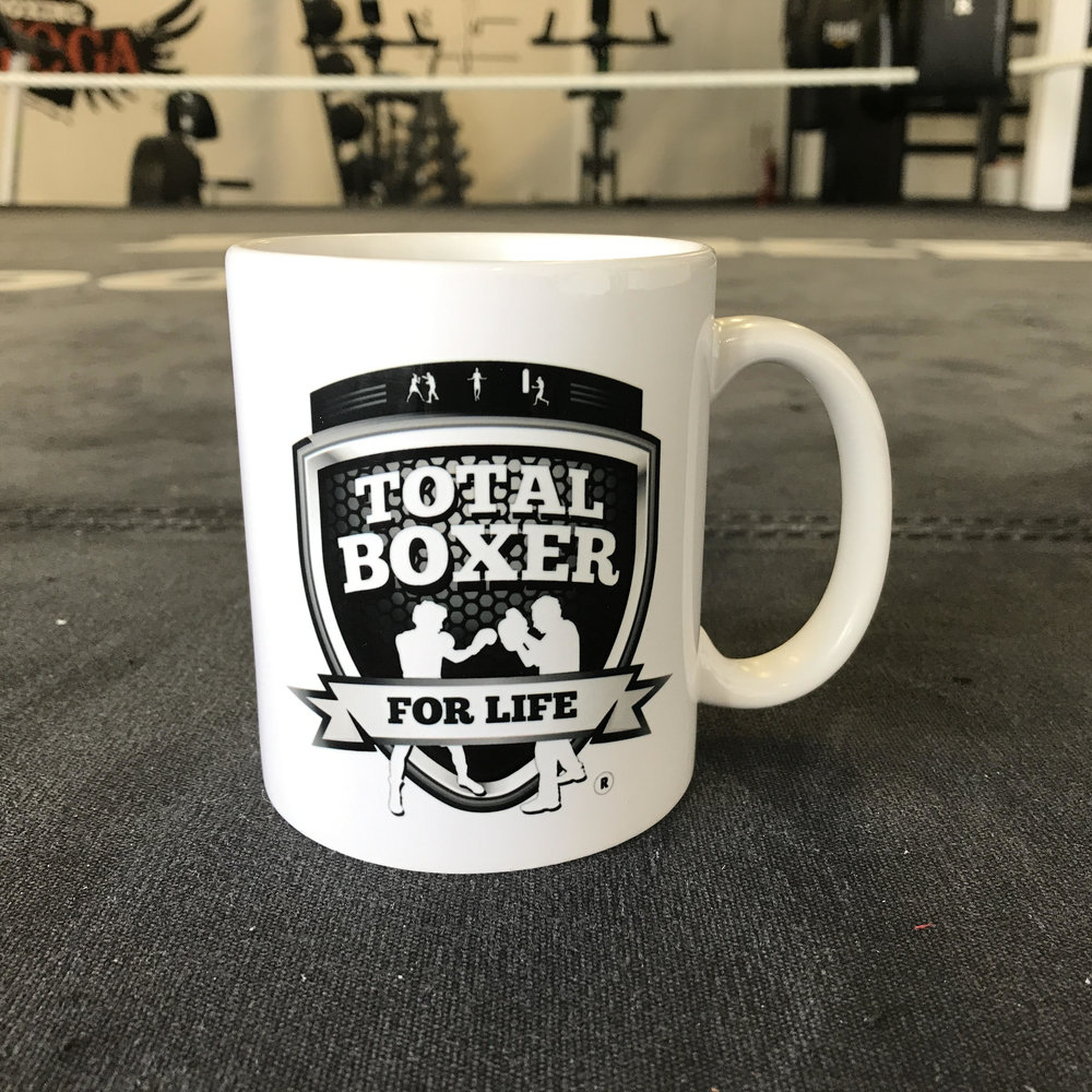 The Total Boxer (not a) mug.