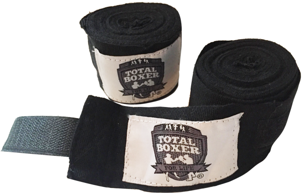 Total Boxer Hand Wraps. Tasty.