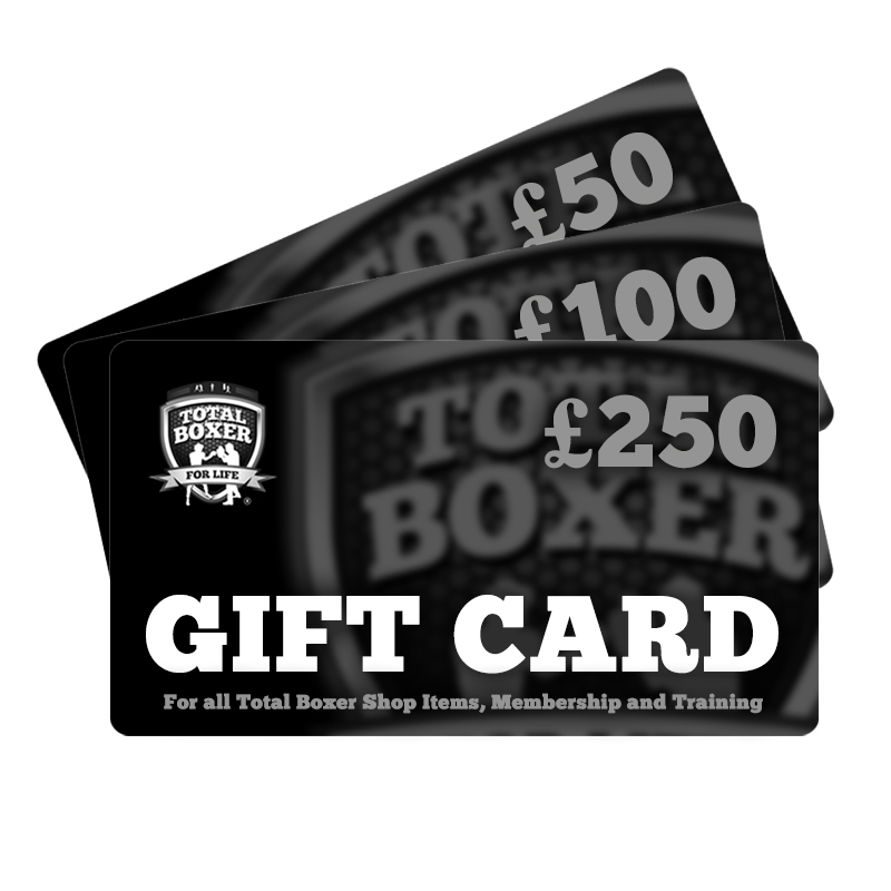 Total Boxer Gift Card. Sweet!