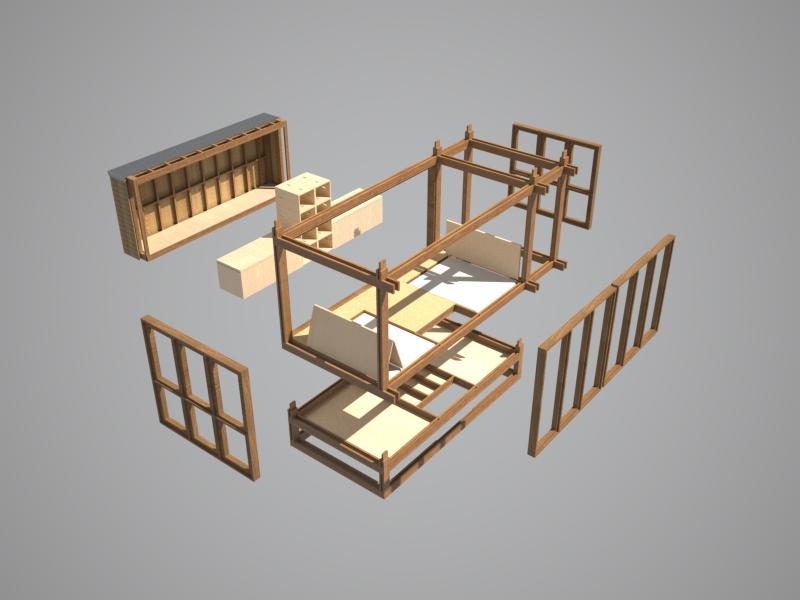 Tiny House - Eco Home - Bedroom.jpg