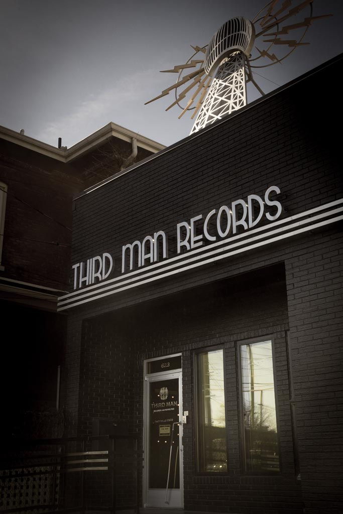Jack White's Third Man Records. Sunday, Feb. 7, 2016.