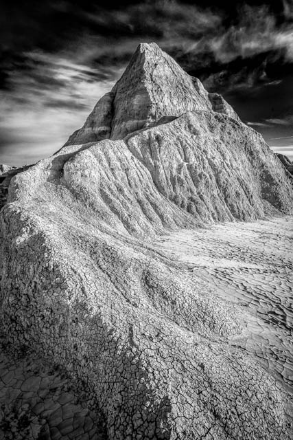 Badlands Loop Rock Formation. 1/60 sec @ f/13 ISO100