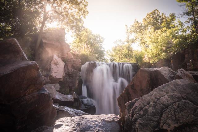 Pipestone Falls. 1/20 @ F/10  ISO 400 24mm