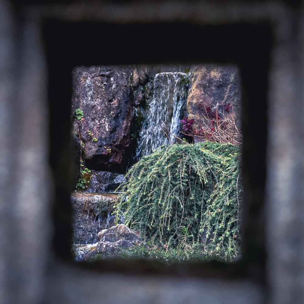 Tea Garden Waterfall