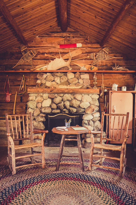 Sigurd Olson Cabin at Listening Point: Interior