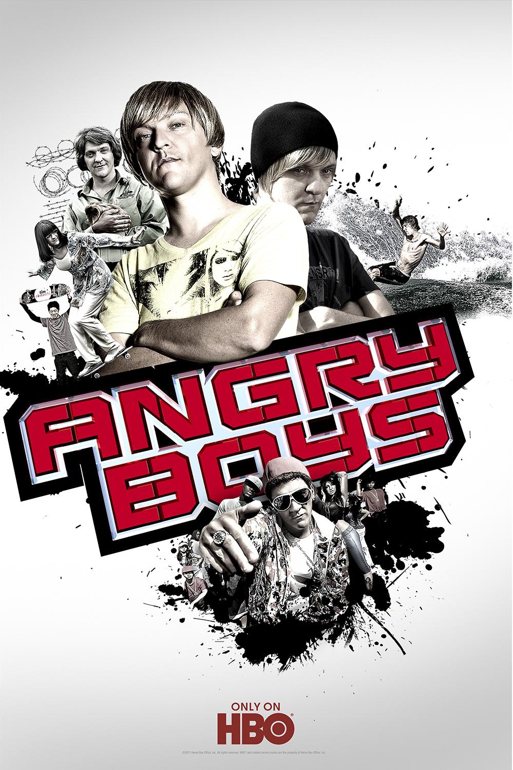 ANGRY BOYS, HBO