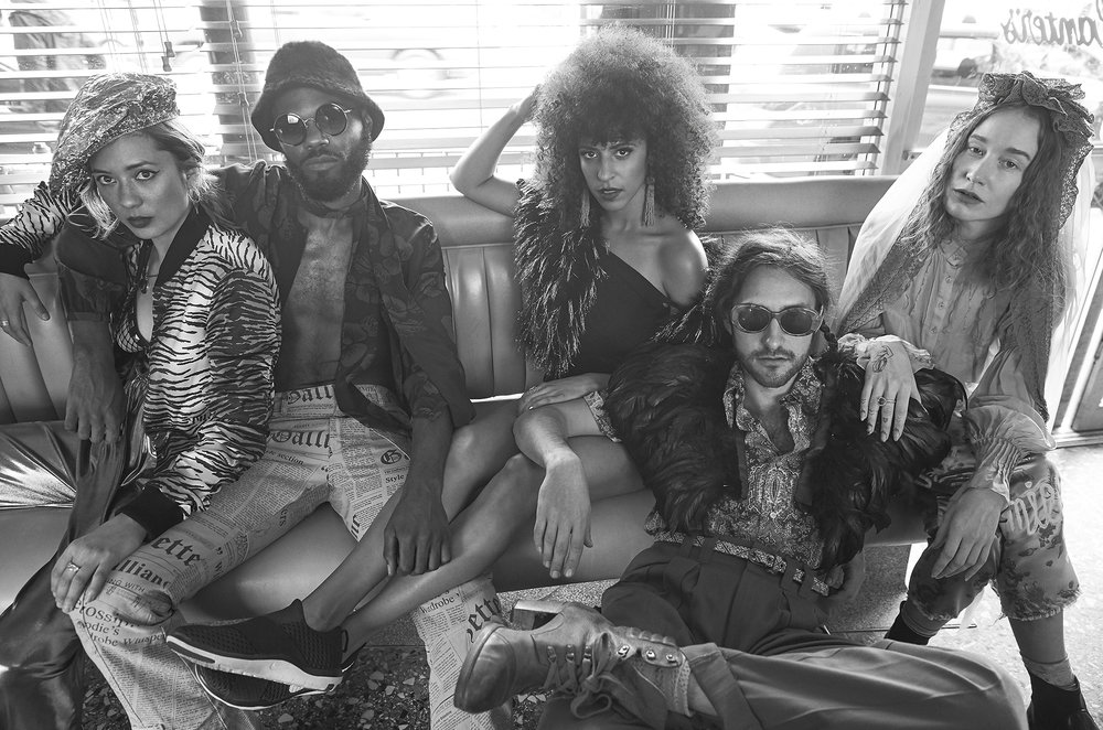 Chela, Rome Fortune, Gavin Tourek, Sasha Desiree and VOX, 429 magazine