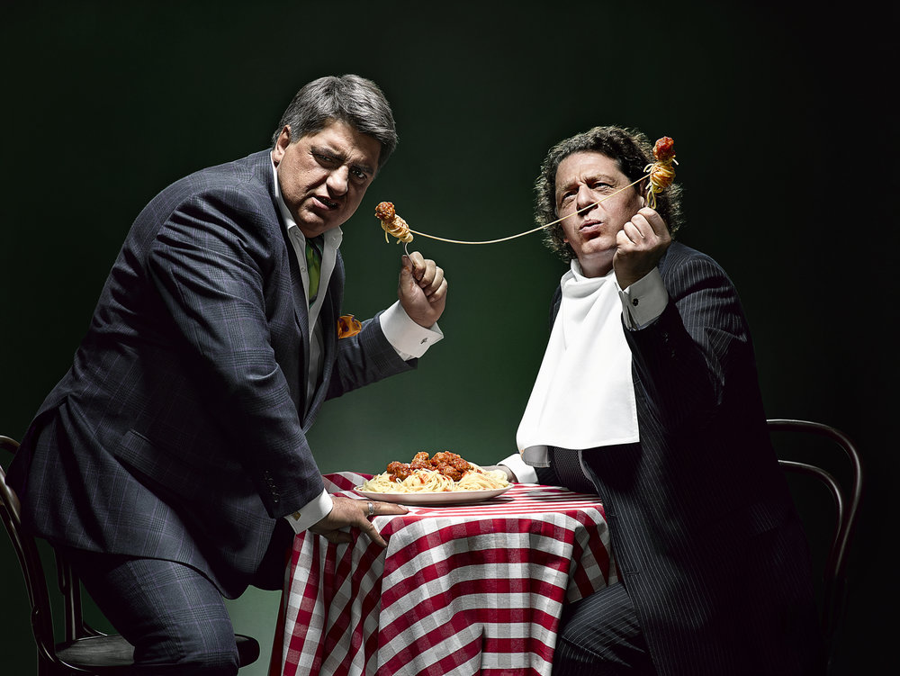 MATT PRESTON & MARCO PIERRE WHITE -  Masterchef