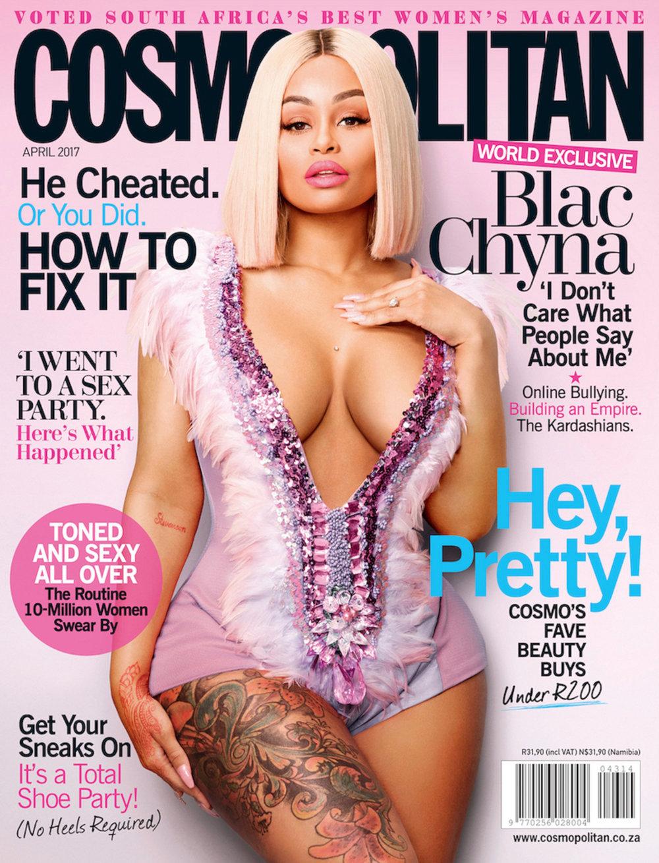 BLAC CHYNA, Cosmopolitan Magazine