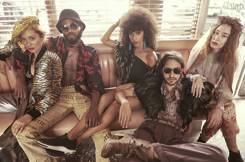 Chela, Rome Fortune, Gavin Tourek, Sasha Desiree & VOX  429 magazine