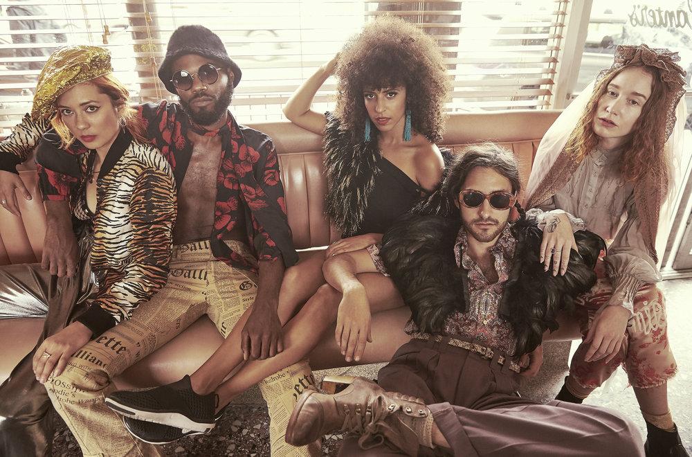Chela, Rome Fortune, Gavin Tourek, Sasha Desiree & VOX,429 magazine