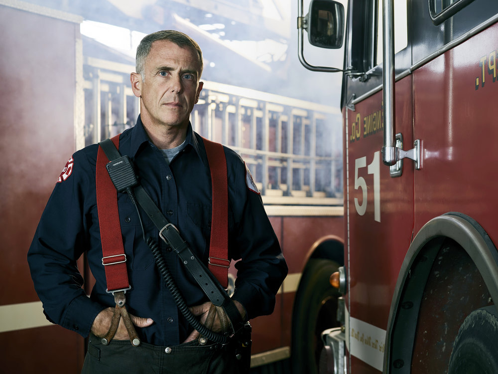 CHICAGO FIRE , NBC - David Eigenberg