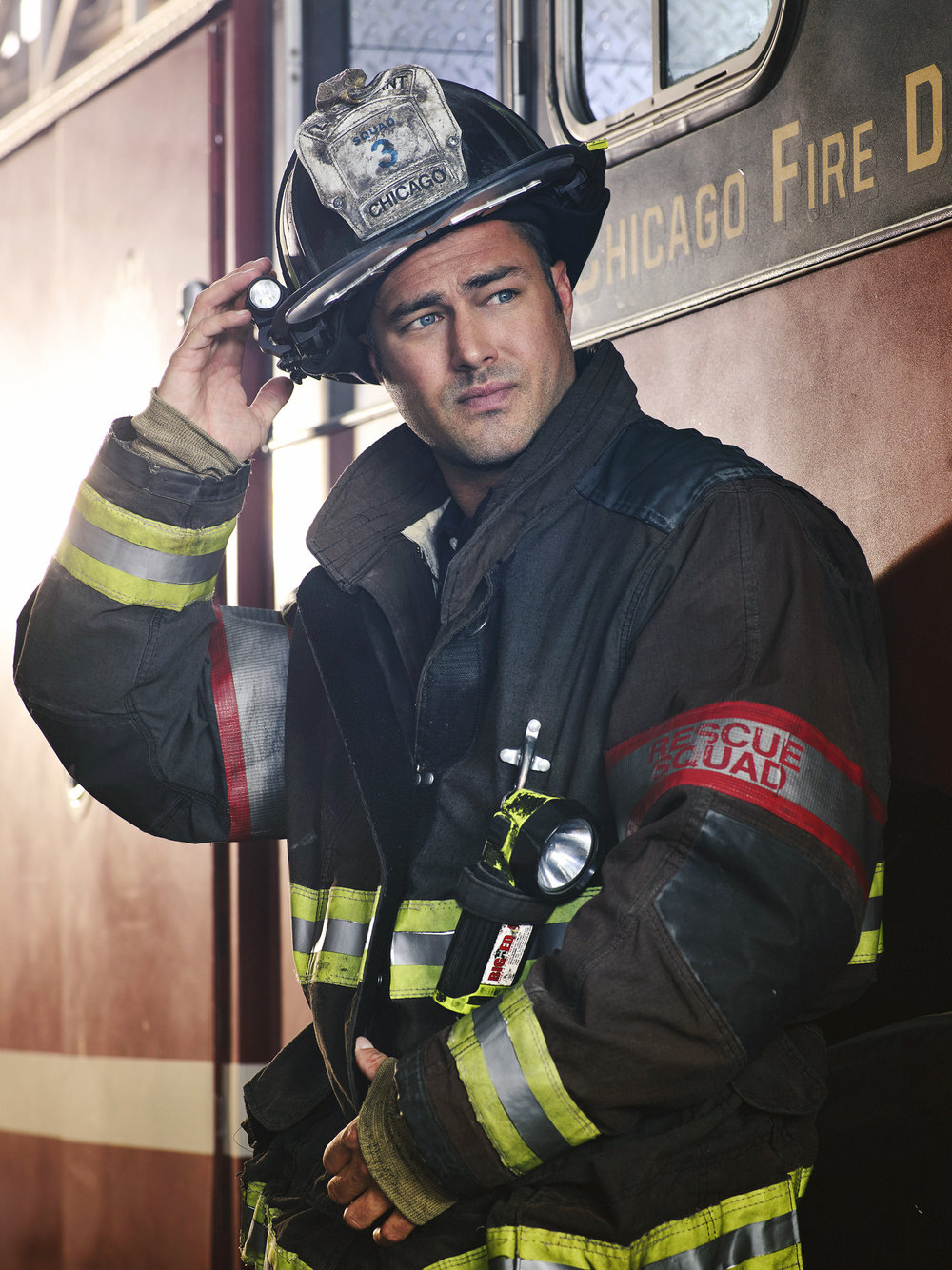 TAYLOR KINNEY  CHICAGO FIRE - NBC